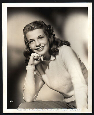 Betty Field, 1945, film stage actress, Schauspieler Pressefoto, press photo /120