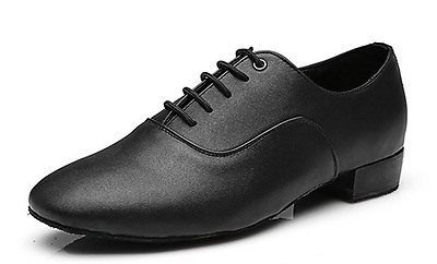 Men Leather Rumba Ballroom Latin Tango Modern Salsa Competition Dance Shoes New