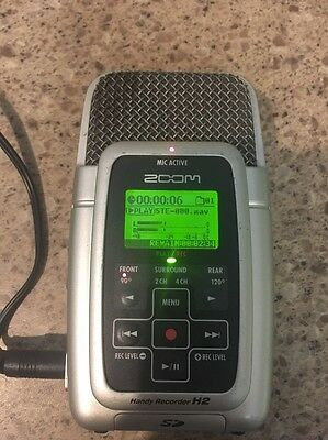 zoom handy recorder h2 Tested Working With AC Power Adaptor