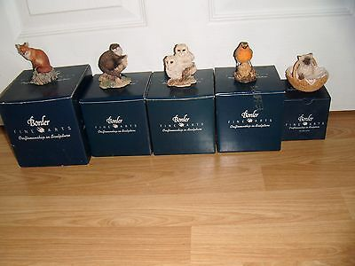 Border Fine Arts Figures ~ 5 To Choose From ~ All Excellent ~ All Boxed