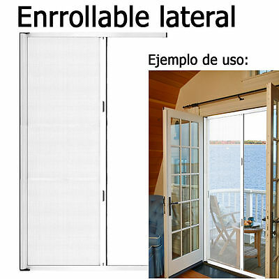 Mosquitera Kit Blanco Puerta Lateral 250x140 cm.