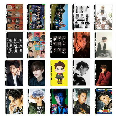 Lot of & Fashion KPOP EXO Personal Collective Poster Photo card Lomo Cards