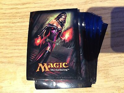 Liliana of the Veil  Card SLEEVES 80 COUNT Magic the Gathering .Unused FREE SHIP