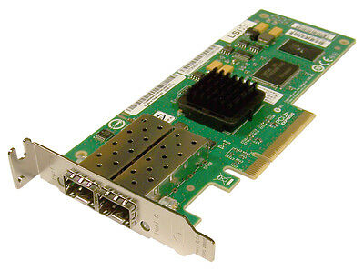 LSI Logic LSI7204EP-LC Dual-Port 4Gb/s Fibre Chanel PCI-Express Controller Card