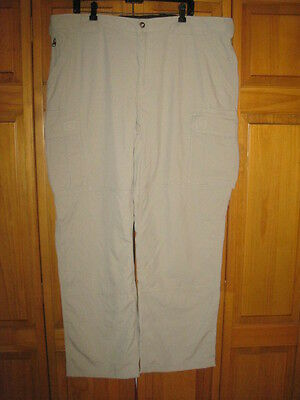 Duluth Trading Company Dry On The Fly Cargo pants men's 2XL x 36 tan NWOT NEW