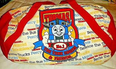 Thomas The Tank Engine And Friends Train Duffel Overnight Bag Carry All     USA