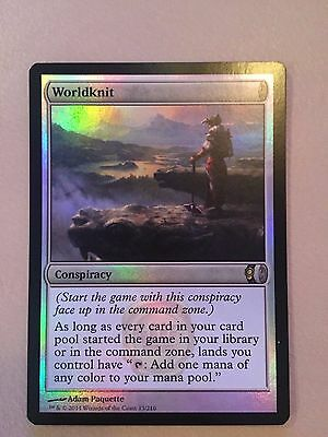 Magic The Gathering - Worldknit FOIL X1 - Conspiracy - NM