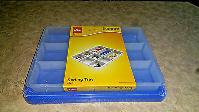 Lego Storage Sorting Tray 4096 Blue - Brand NEW