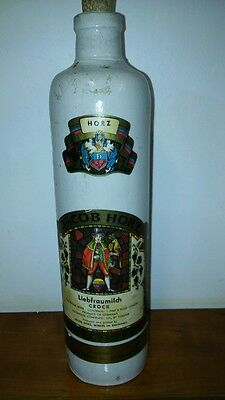 JACOB HORZ Crock Wine Bottle Liebfraumilch