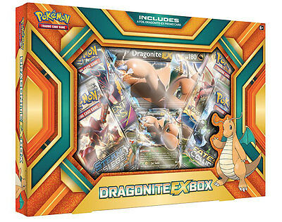 POKEMON DRAGONITE-EX BOX | KOLLEKTION mit BOOSTERN, HOLOKARTEN | ENGLISCH