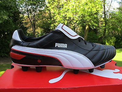665368f217043f PUMA ESITO FINALE i FG FIRM GROUND MOULDS BOOTS mens UK 8 black red white