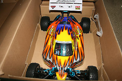 REDCAT RACING XSTR TOP RC 1/10 scale Buggy , FAST!