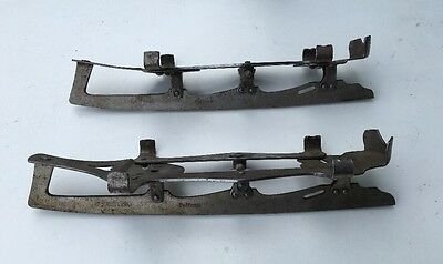 Lovely Pair of Old Vintage Ice Skates Gloria Pelican Brand Adjustable