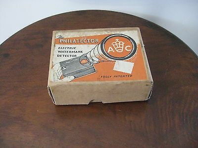 a philatector watermark detector by H&A Wallace in orig box