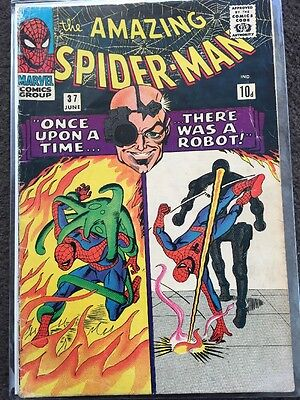 The Amazing Spider-Man #37 - VG (4.0) - 1st Norman Osborn