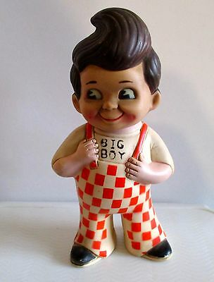 VINTAGE 1970'S ELIAS BROTHERS BIG BOY  Rubber Doll Bank NOW REDUCED !!