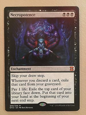 Magic The Gathering - Necropotence X1 - Eternal Masters - NM