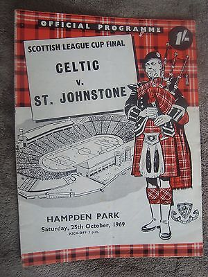 1969 Scottish League Cup Final - Celtic V St Johnstone