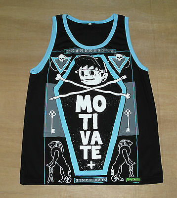 Rock Punk - Size M - Street Wear, Skateboard Vest, Tank Top, Frankenstein - New