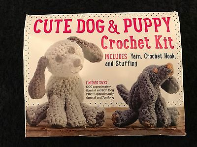 100x cute Dog & Puppy CrochetCushion Sewing knitting Patchwork Craft Kit job lot
