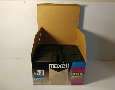 80 MAXELL MF 2HD 3.5 High Density Floppy Disks