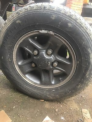 Discovery Defender Boost Alloys Wheels X4  And Tyres
