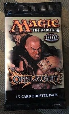 MTG Magic Factory-Sealed Onslaught 15-card Booster Pack - English (x1)