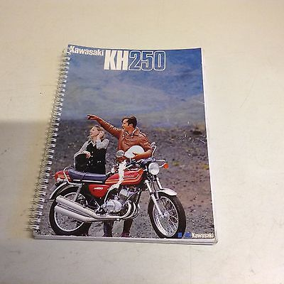 Kawasaki kh250 parts book