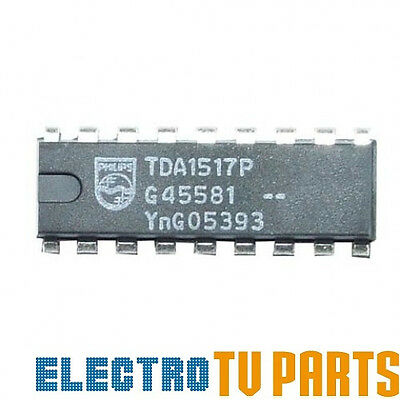 Tda1517P From Philips - Integrated Circuit Dip-18