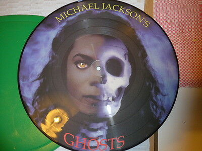 "Michael Jackson - Ghosts -   12"" PICTURE DISC Limited Edition VERY RARE"
