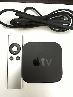 Apple TV (3rd Gen) MD199LL/A  Digital Source Streamer with Generic Remote