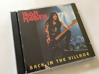 Iron Maiden Double CD London Hammersmith Odeon 4th Night Powerslave Tour 1984