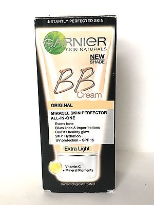 GARNIER MIRACLE SKIN PERFECTOR ALL-IN-1 BB CREAM EXTRA LIGHT - 50ml