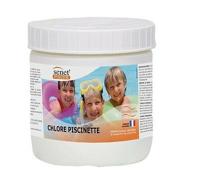 Chlore Special Piscinette 500 Gr Traitement Eau Piscine