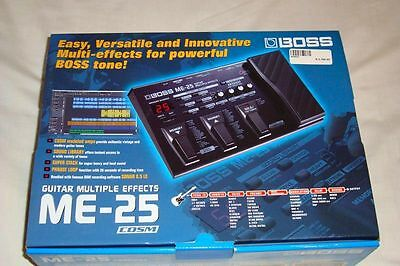 Boss ME-25 Guitar Multi-Effects Pedal (Guitar Multi-Effect Pedalboard) ME25