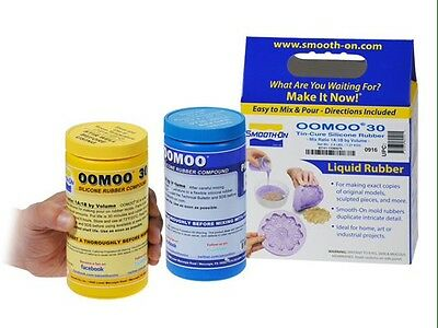 Smooth-On OOMOO 30 Silicone Kit- 2.8 lb Mold Making