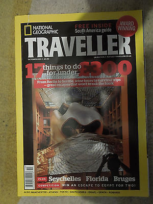 National Geographic Traveller - October 2015