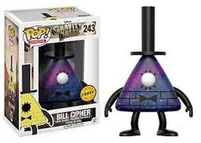 Limited Chase Edition Funko Pop! Animation 243 Disney Gravity Falls Bill Cipher