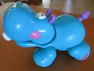 Fisher Price Amazing Animals Sing & Go Train Hippo Replacement, Boy/Girl 6M+