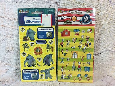 Monsters Inc Stickers Cat In The Cat Stickers Sandylion 2 Sheets Per Pack 2003