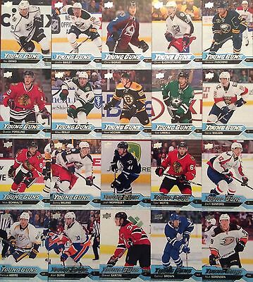 2016-17 Upper Deck Young Guns Serie 1 Set 20/50 Lot 16-17 Ud Yg Aberg Brown ...