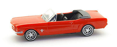 CONVERTIBLE MUSTANG - FULLY ASSEMBLED plastic scale model in HO SCALE by BUSCH