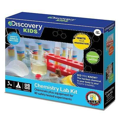 Discovery Kids Chemistry Lab Experiment Set STEM Activities NEW From NSW Austr