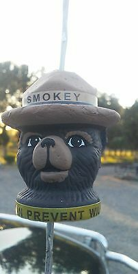 Let Smokey Ride Along Summer Of 2017.antenna Toppers