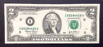 2003 USA $2 Two Dollar Paper Money Bank Note - No Tax