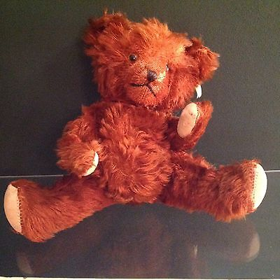 "Adorable 1950's ~ ANTIQUE 13"" MOHAIR"" BEAR ~ By Character Novelty Co."