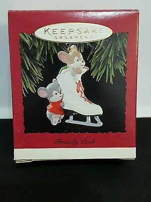 1994 Hallmark Keepsake Ornament * Friendly Push * ~ Hand Crafted