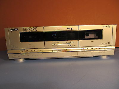 ION Tape2PC, USB cassette archiver / double cassette deck (ref 644)