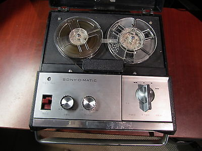 Vintage SONY reel to reel tape corder TC 900 S for parts or repair (ref 536)
