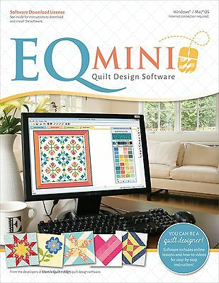 EQ Mini Quilt Design Software Electric Quilt Program for PC and Mac NEW